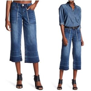 Seven7 Stretchy Released Hem Gaucho Jean
